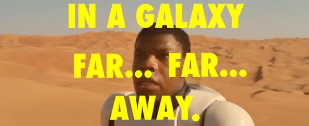 Se Star Wars l'avesse girato Wes Anderson, il trailer sarebbe venuto così