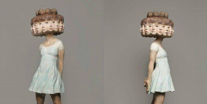 statue sculture corpo movimento 1