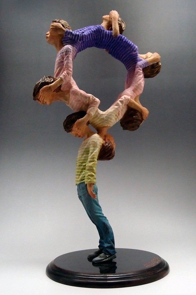 statue sculture corpo movimento 9