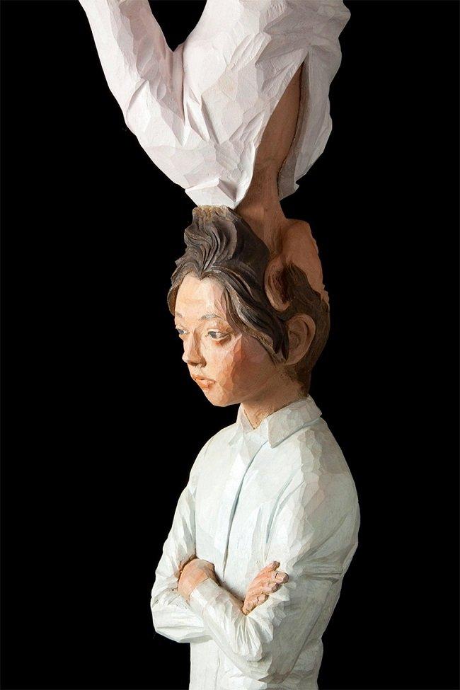 statue sculture corpo movimento 7