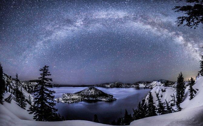 Come sarebbe il cielo di notte senza l'inquinamento delle città