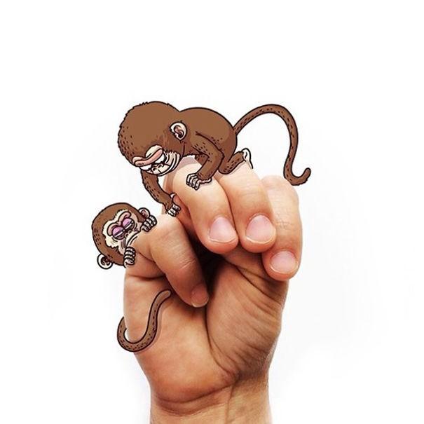 tante scimmie