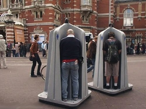 10 public urinal stalls
