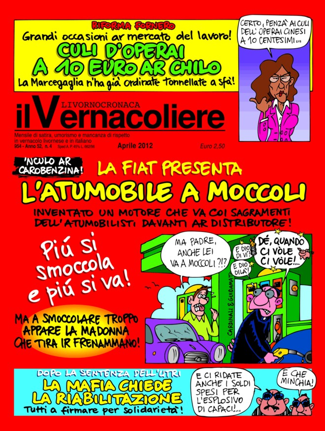 Automobile-a-moccoli-Vernacoliere