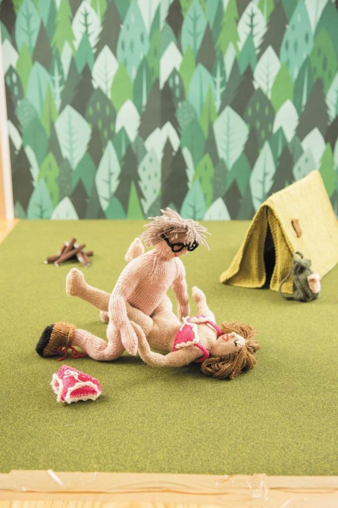 Knit Your Own Kama Sutra by Trixie von Purl 7