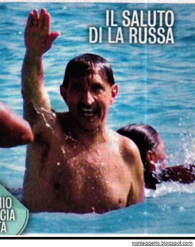 La Russa saluto romano fascista - Nonleggerlo
