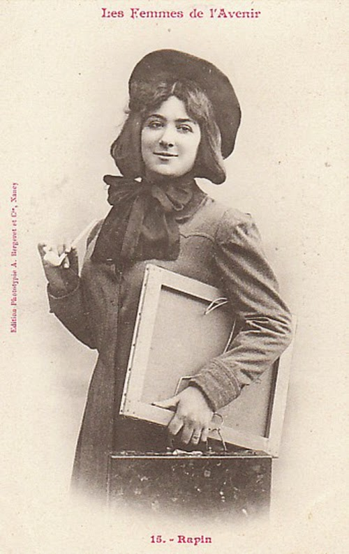 Women of the Future Trading Cards, 1902 (12)