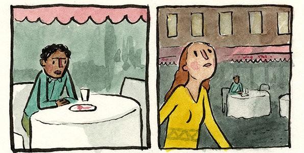 Questo illustratore trasforma i suoi incubi in splendidi fumetti