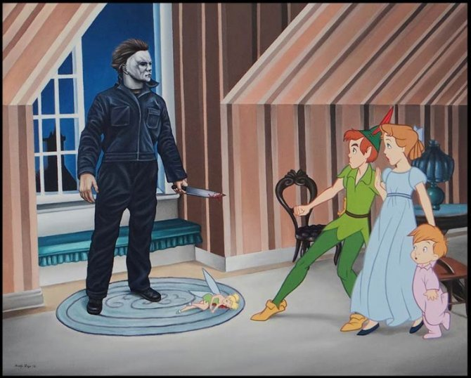 horror disney princesses 1