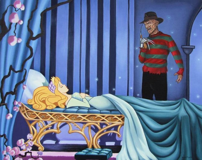 horror disney princesses 6