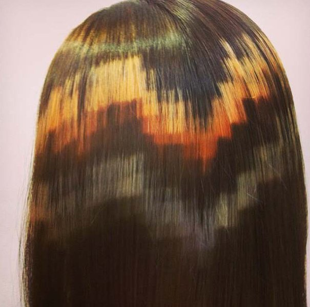 pixelated hair color x presion 11