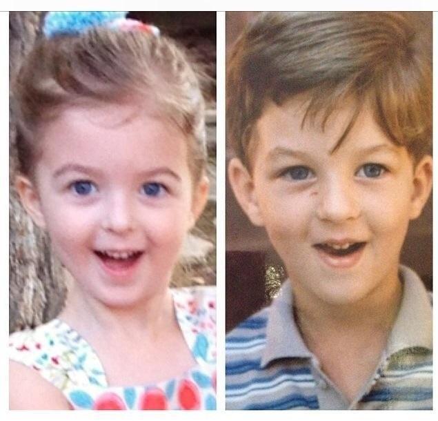genitori figli identici 5