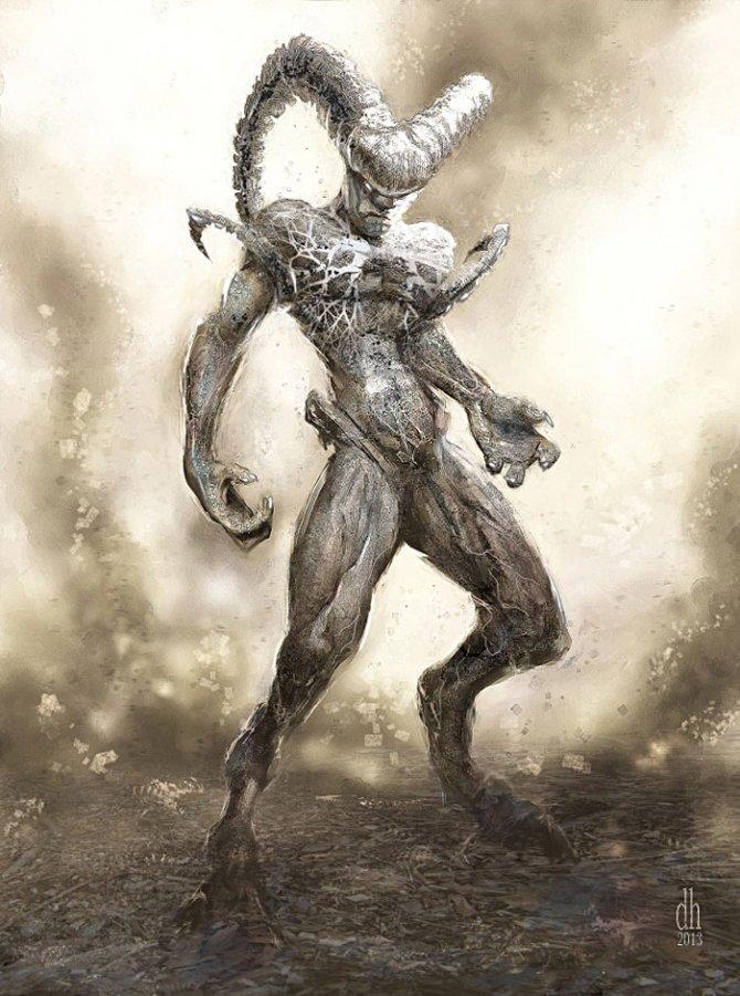 zodiac monsters fantasy digital art damon hellandbrand 1