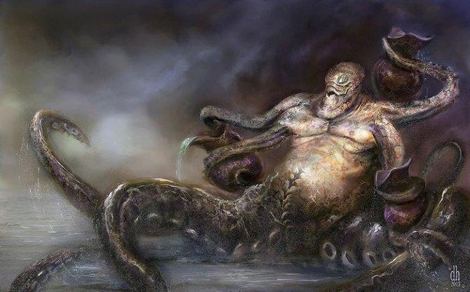 zodiac monsters fantasy digital art damon hellandbrand 11