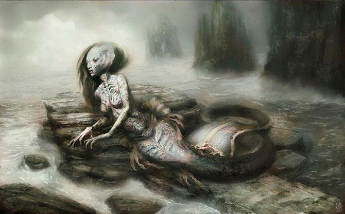 zodiac monsters fantasy digital art damon hellandbrand 12
