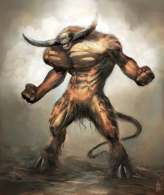 zodiac monsters fantasy digital art damon hellandbrand 2