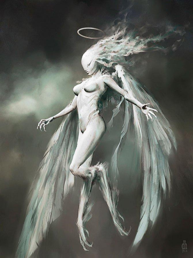 zodiac monsters fantasy digital art damon hellandbrand 6