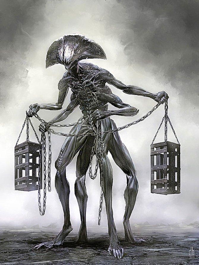 zodiac monsters fantasy digital art damon hellandbrand 7