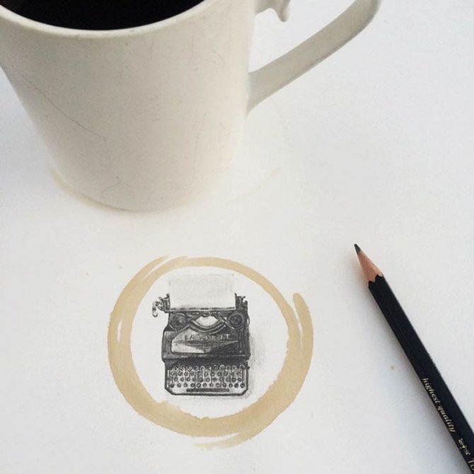 Coffee Stain illustration 12
