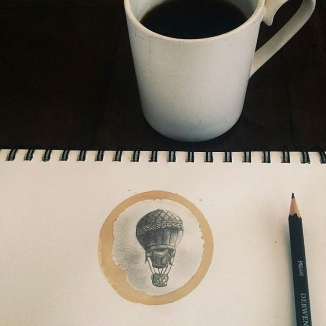 Coffee Stain illustration 2