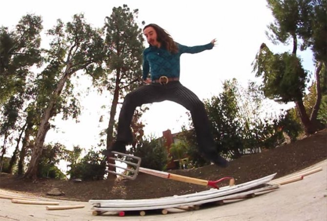 Richie Jackson no skateboard 5