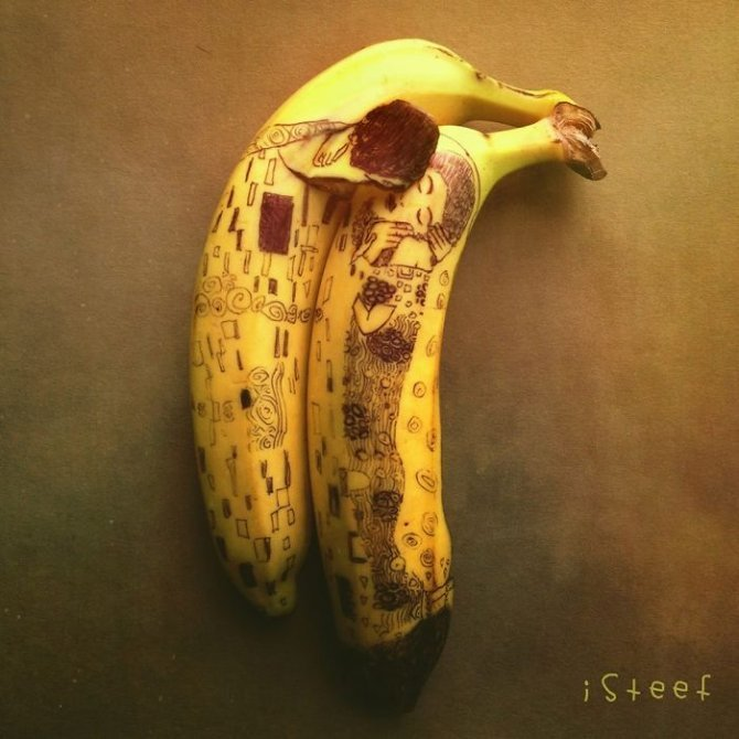 banana drawings fruit art stephan brusche 3