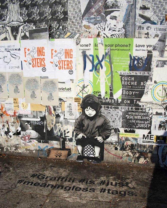 iHeart street art 13