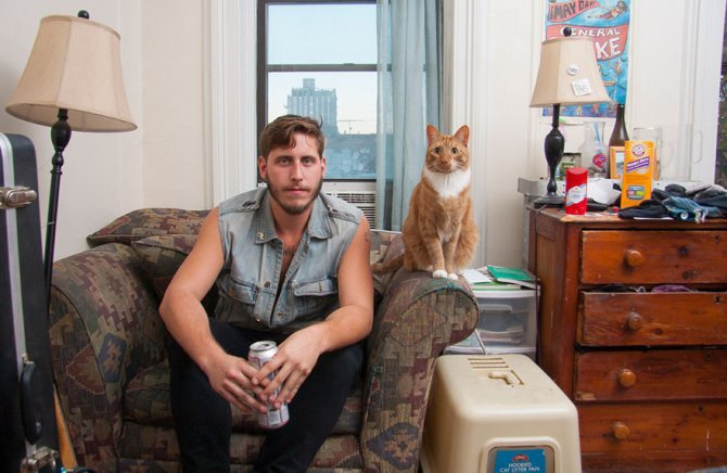 men and cats photography david williams 1