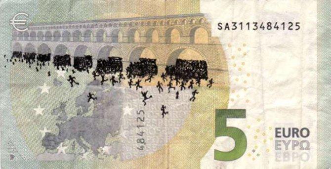 banconote euro protesta grecia 5
