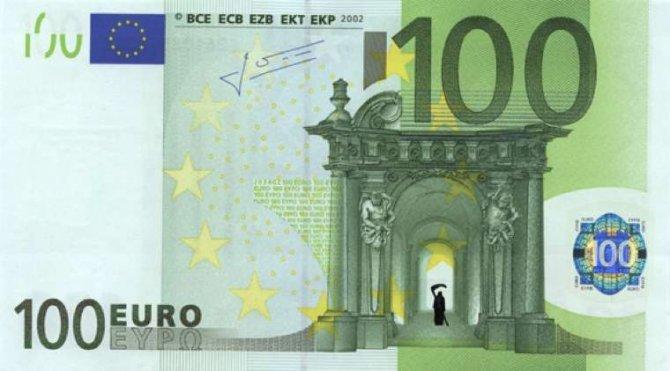 banconote euro protesta grecia 12