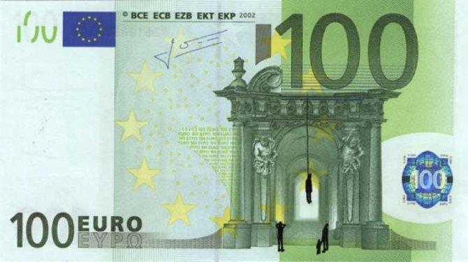 banconote euro protesta grecia 8