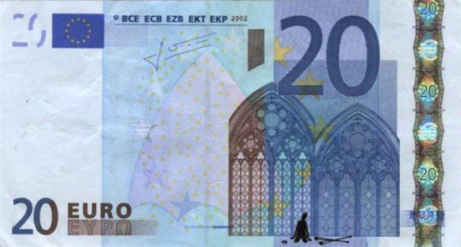 banconote euro protesta grecia 10