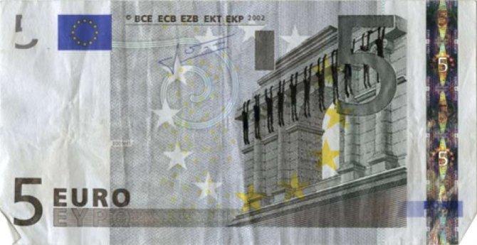 banconote euro protesta grecia 21