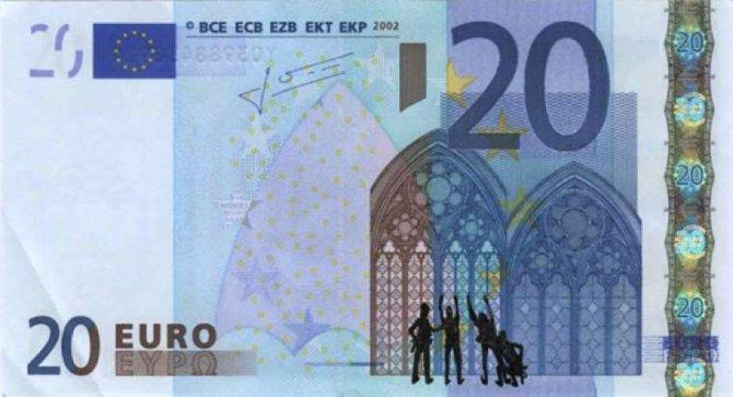 banconote euro protesta grecia 3