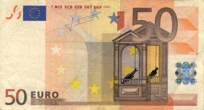 banconote euro protesta grecia 17