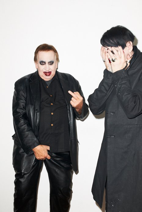 Marilyn Manson and dad