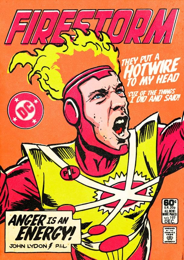 Post Punk Superheroes butcher billy 5