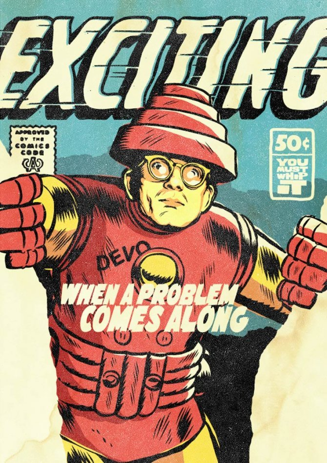 Superpowered Post Punk Marvels by Butcher Billy 4