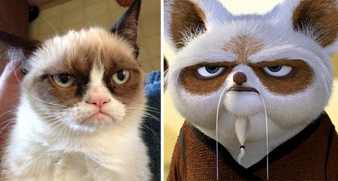 XX Cartoon Characters Found In Real Life10 700
