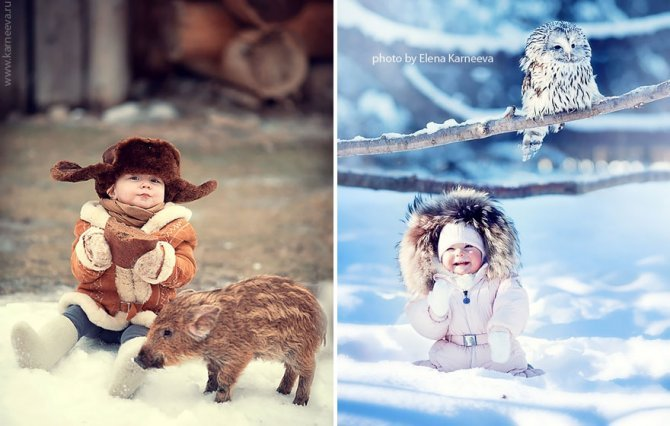 animal children photography elena karneeva 72 880
