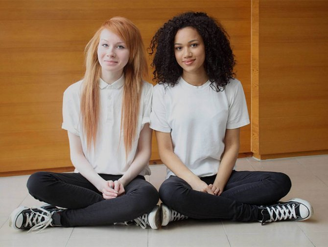 black white skin twin sisters lucy maria aylmer 13