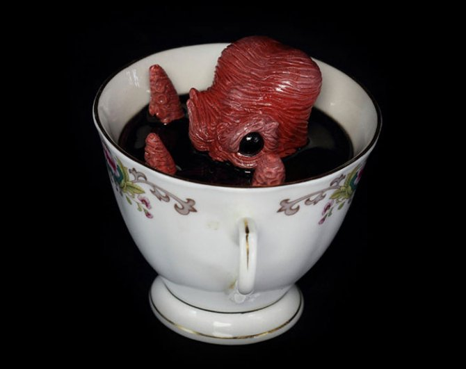 cthulhu tentacle octopus teacup michael palmer voodoo delicious 2