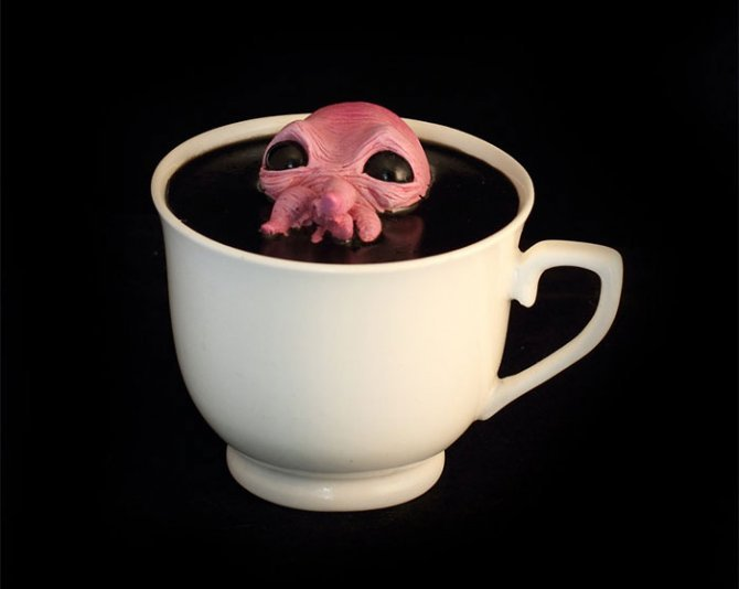 cthulhu tentacle octopus teacup michael palmer voodoo delicious 3