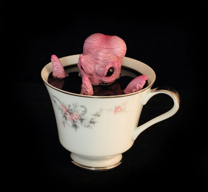cthulhu tentacle octopus teacup michael palmer voodoo delicious 4