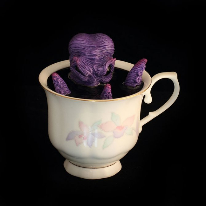 cthulhu tentacle octopus teacup michael palmer voodoo delicious 5