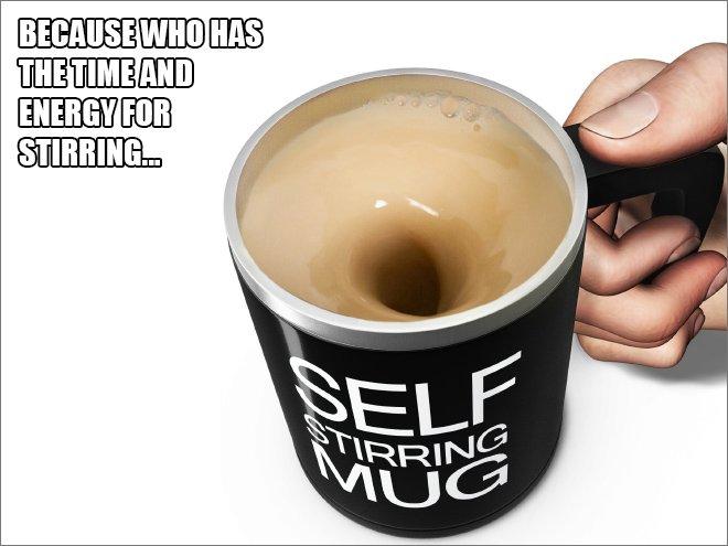 lazy mug