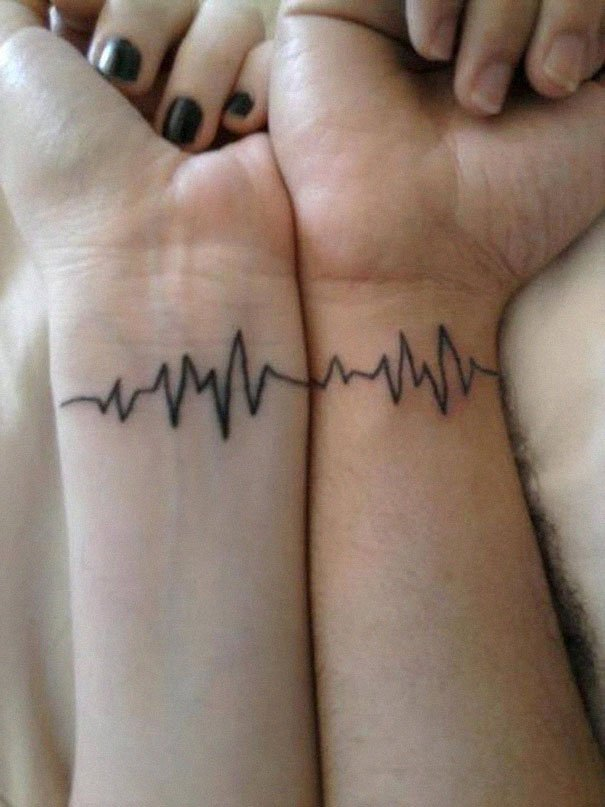 matching couple tattoos 34 605