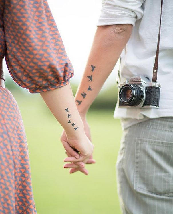 matching couple tattoos 47 605