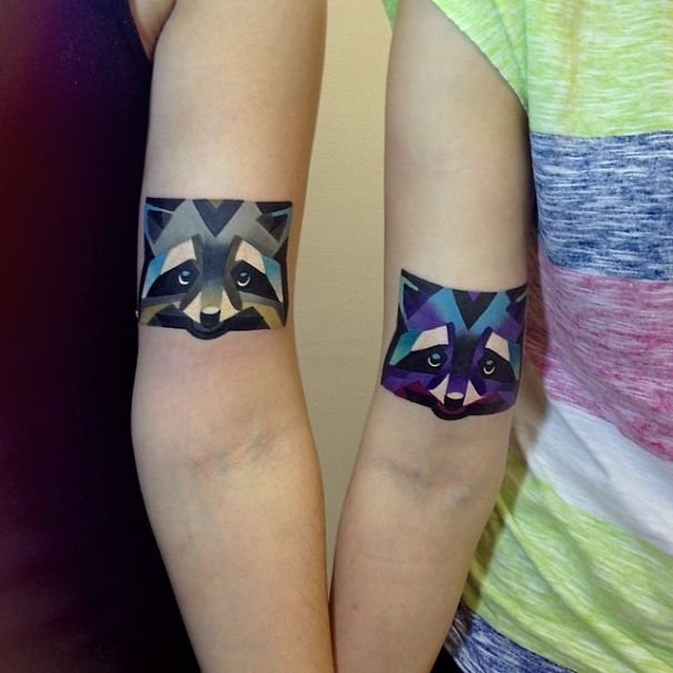 matching couple tattoos 592 605