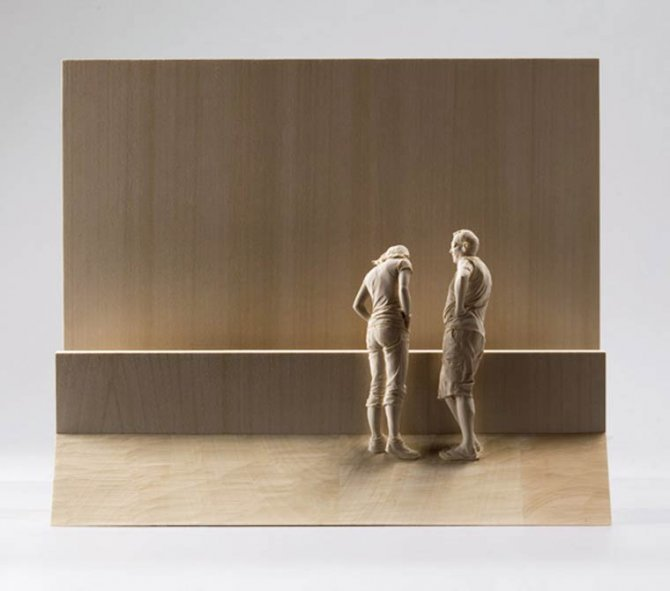 peter demetz wood sculptures 1